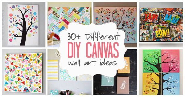 Searching for diy canvas wall art ideas painting on canvas or mod podging paper