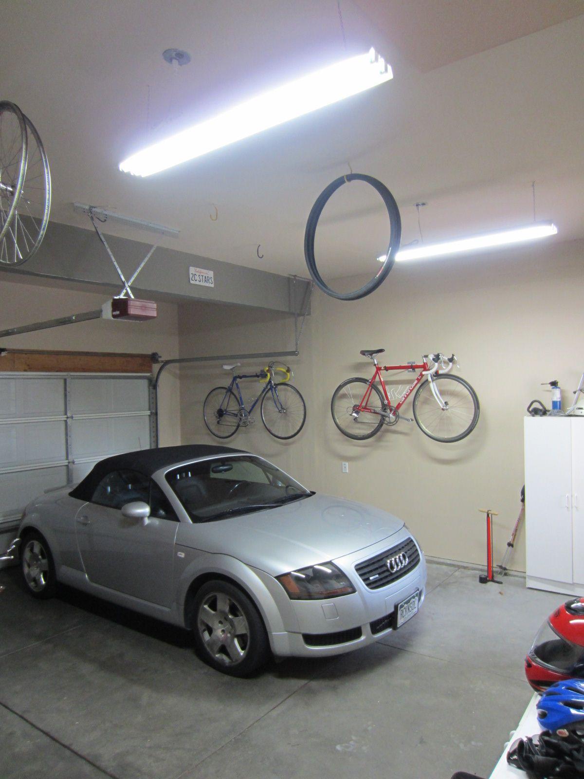 8 Foot Fluorescent Light Fixture Garage Lighting Garage Light
