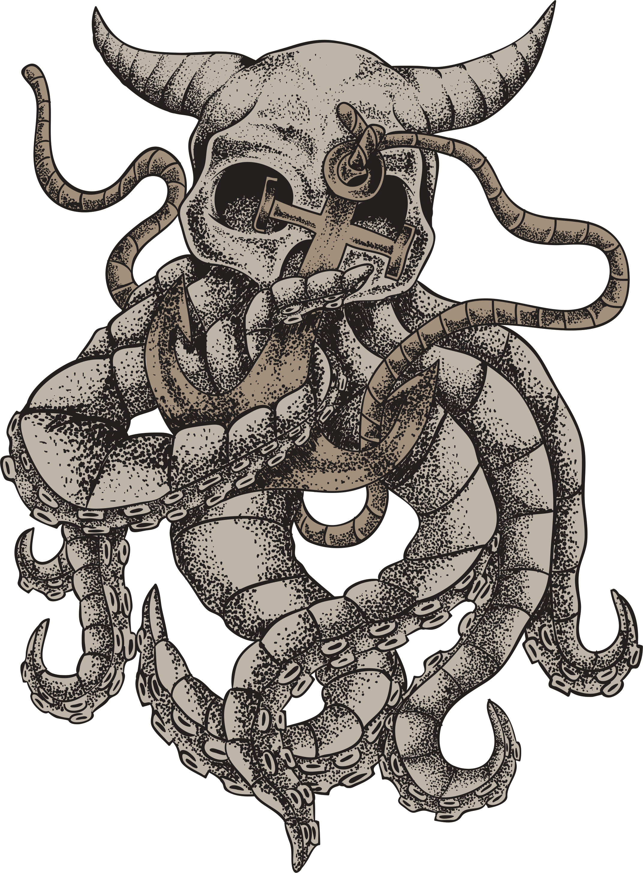 cdr eps art design print tshirt принт skull Принты