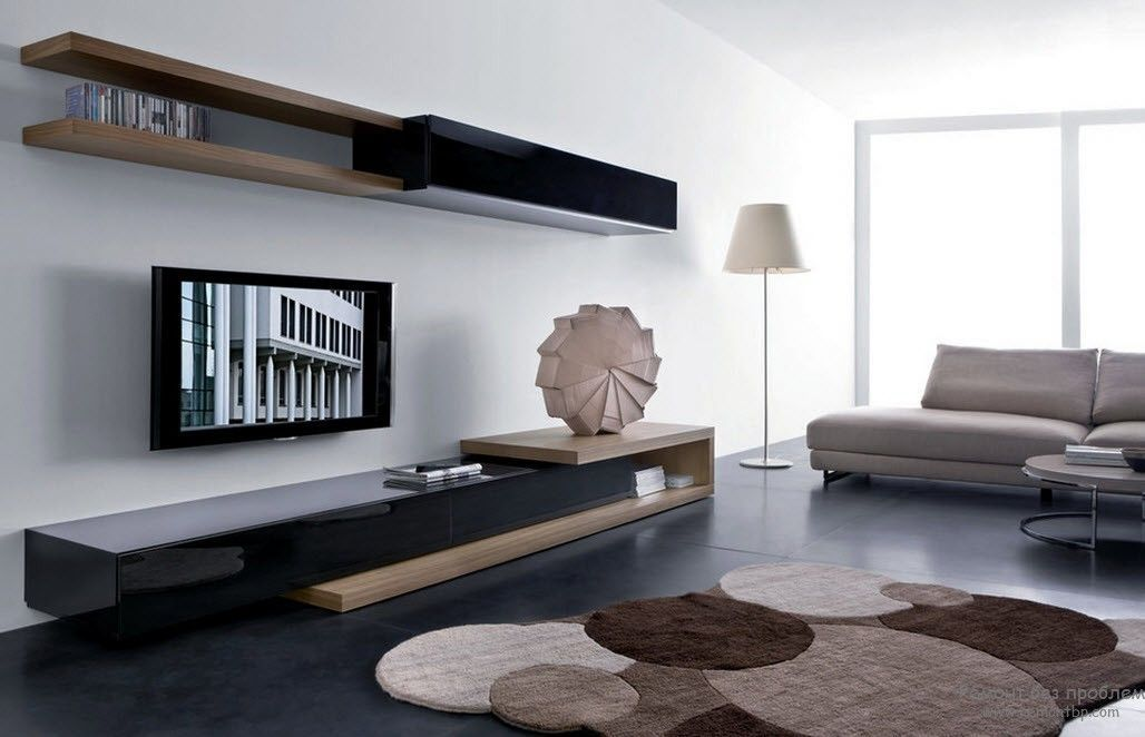 Low TV Cabinet MODERN FLAG Modern Collection By Porro Design - Creative colorful tv unit