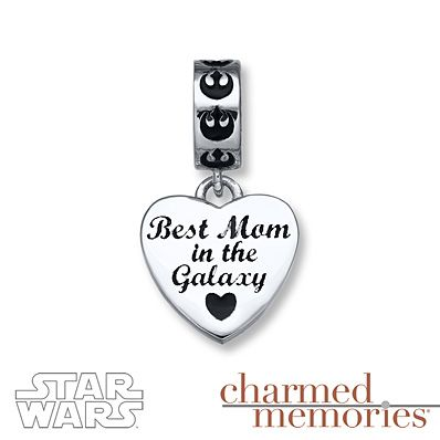 Charmed Memories Rebel Alliance Charm Sterling Silver