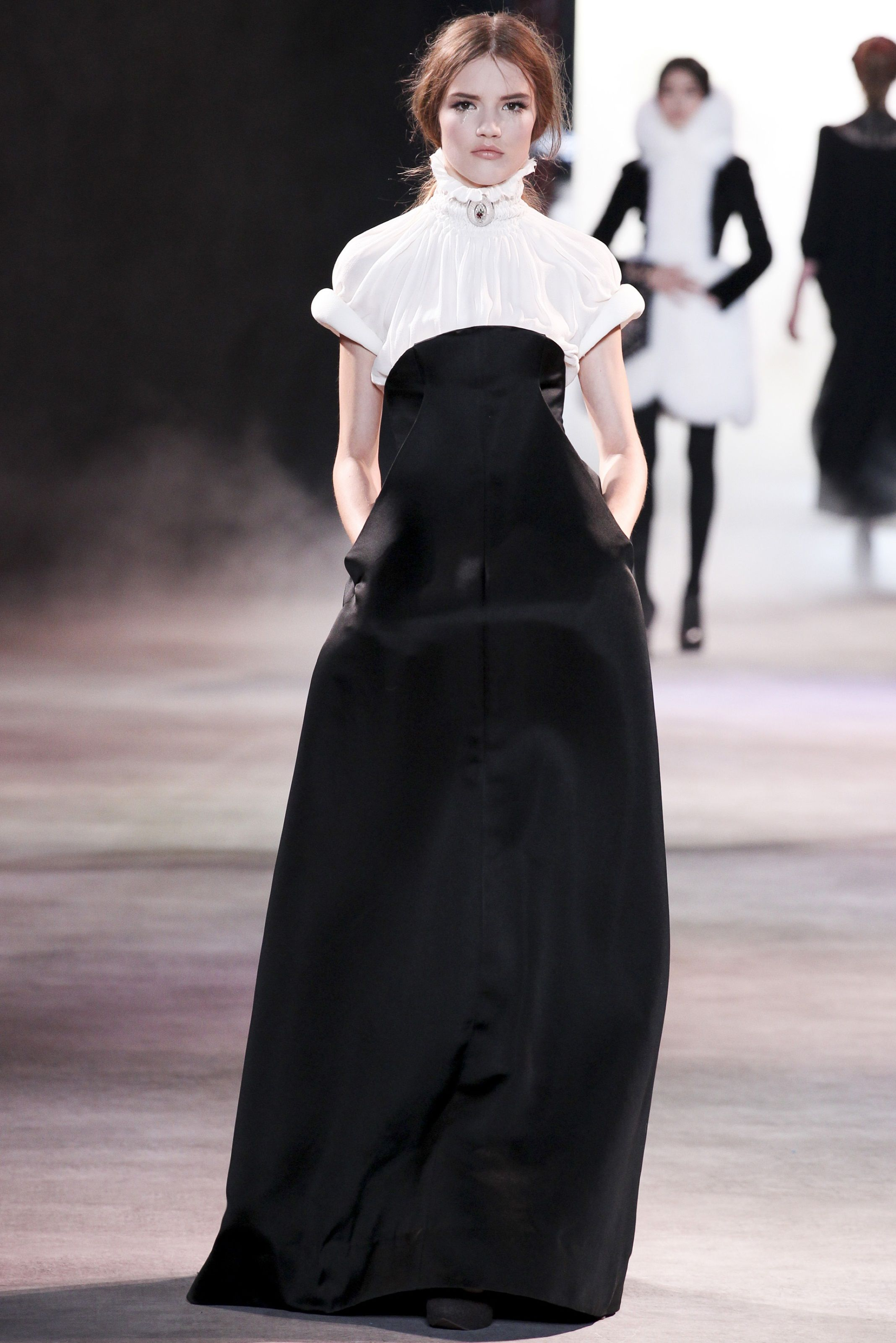 Haute Couture A/W 2013/14   Paris   Ulyana Sergeenko