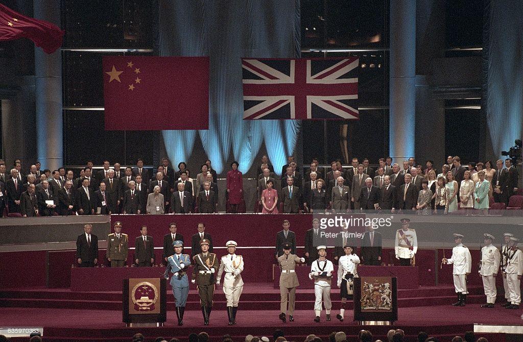 The 1997 Hong Kong Handover Ceremony Hong Kong Kong Hong