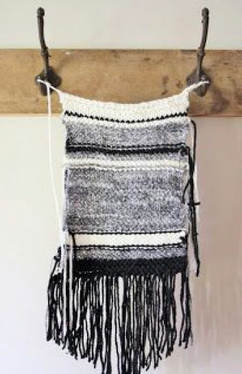 Diy Knitted Wall Hanging Craft Projects Wall Patterns