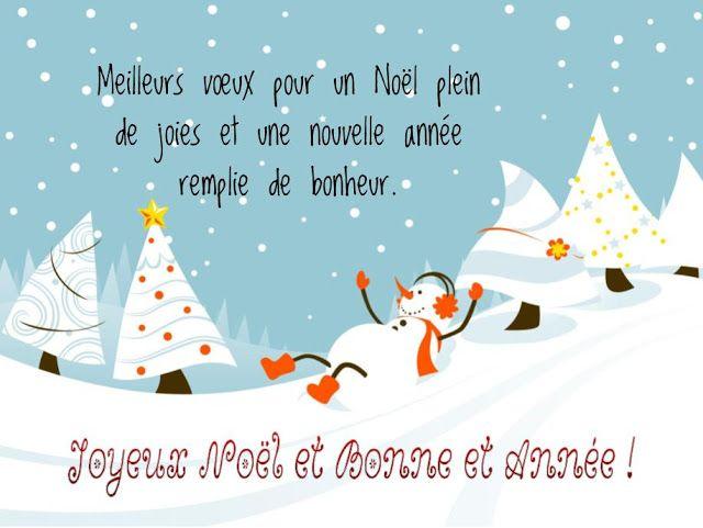 carte fin d année Textes et Cartes Vœux Joyeux Noël & Nouvel An | Felicitaciones