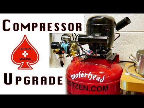 (2) Ultra Quiet Refrigerator Air Compressor Upgrade Build