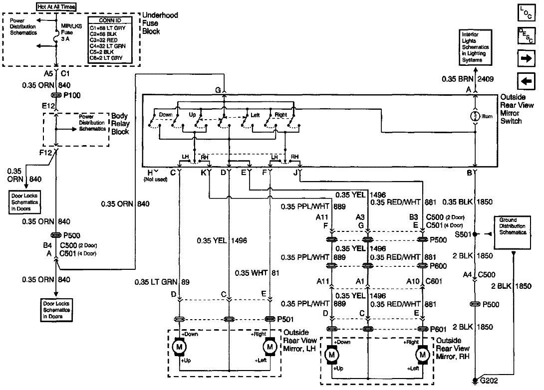 For The 2002 Chevrolet Trailblazer 4wd Wiring Diagram