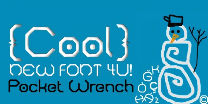 PocketWrench font download