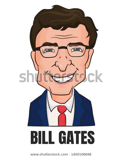 Bill Gates Worlds Richest Billionaire Microsoft Stock Vector Royalty Free 1400106698 Richest In The World Bill Gates Stock Vector