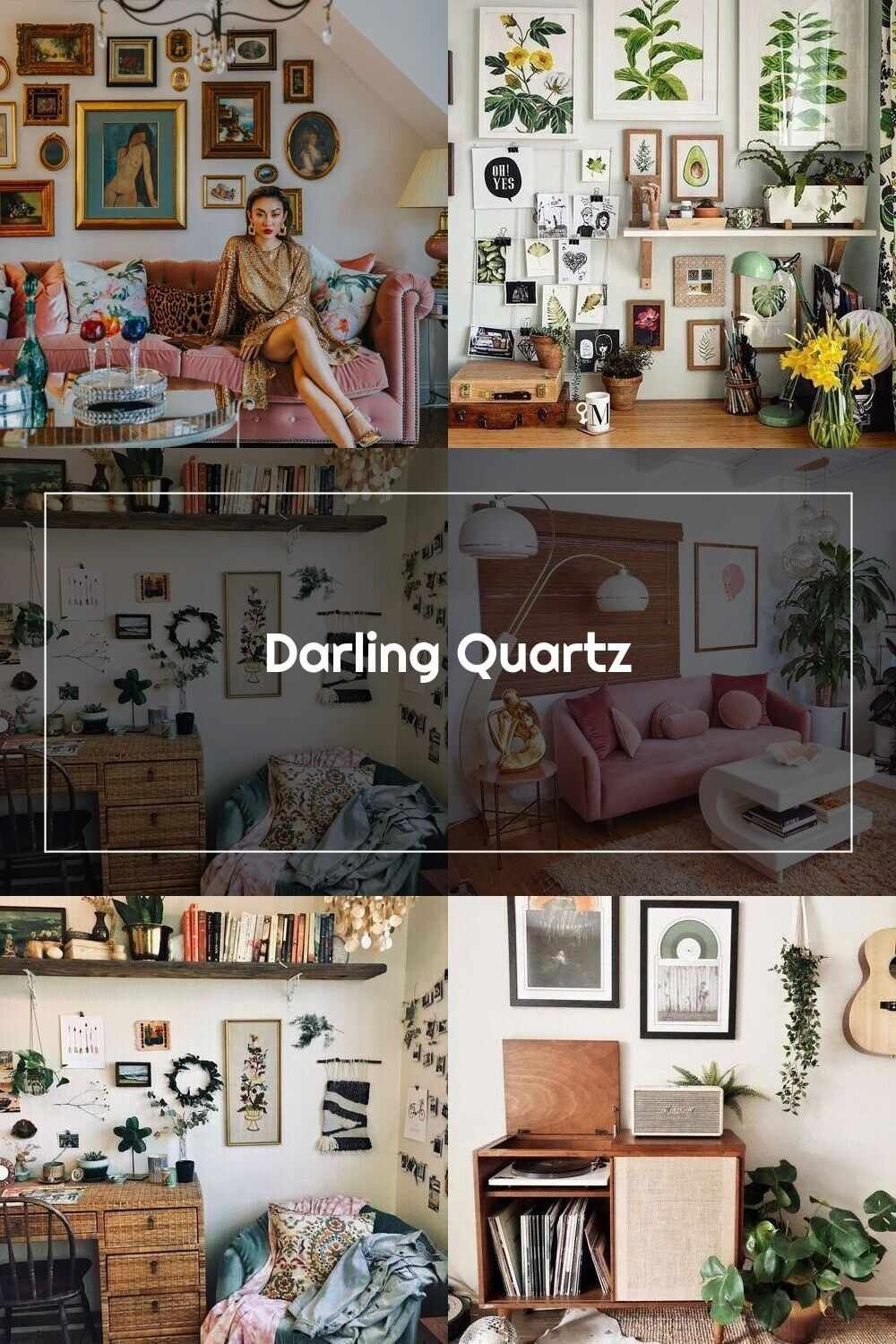 Photo of Retro Home Decor Darling Quartz