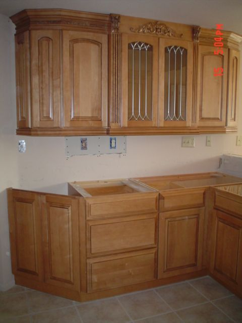 Angle 5; another view of those upper cabinets and a better ...