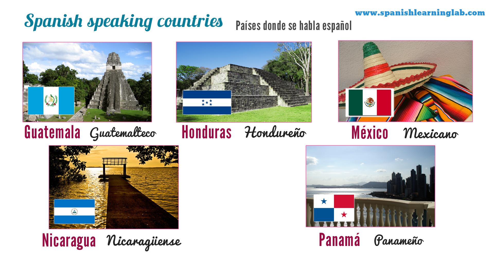 More Spanish Speaking Countries Spanish Classroom Spanish Speaking Countries Spanish