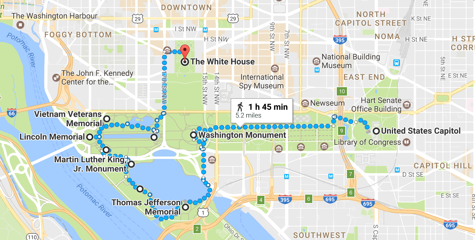 Free Walking Tour Washington DC Monuments | Travel: DC | Dc ...