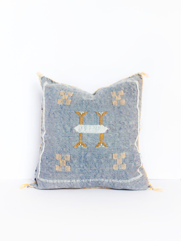 Macy Cactus Silk Pillow