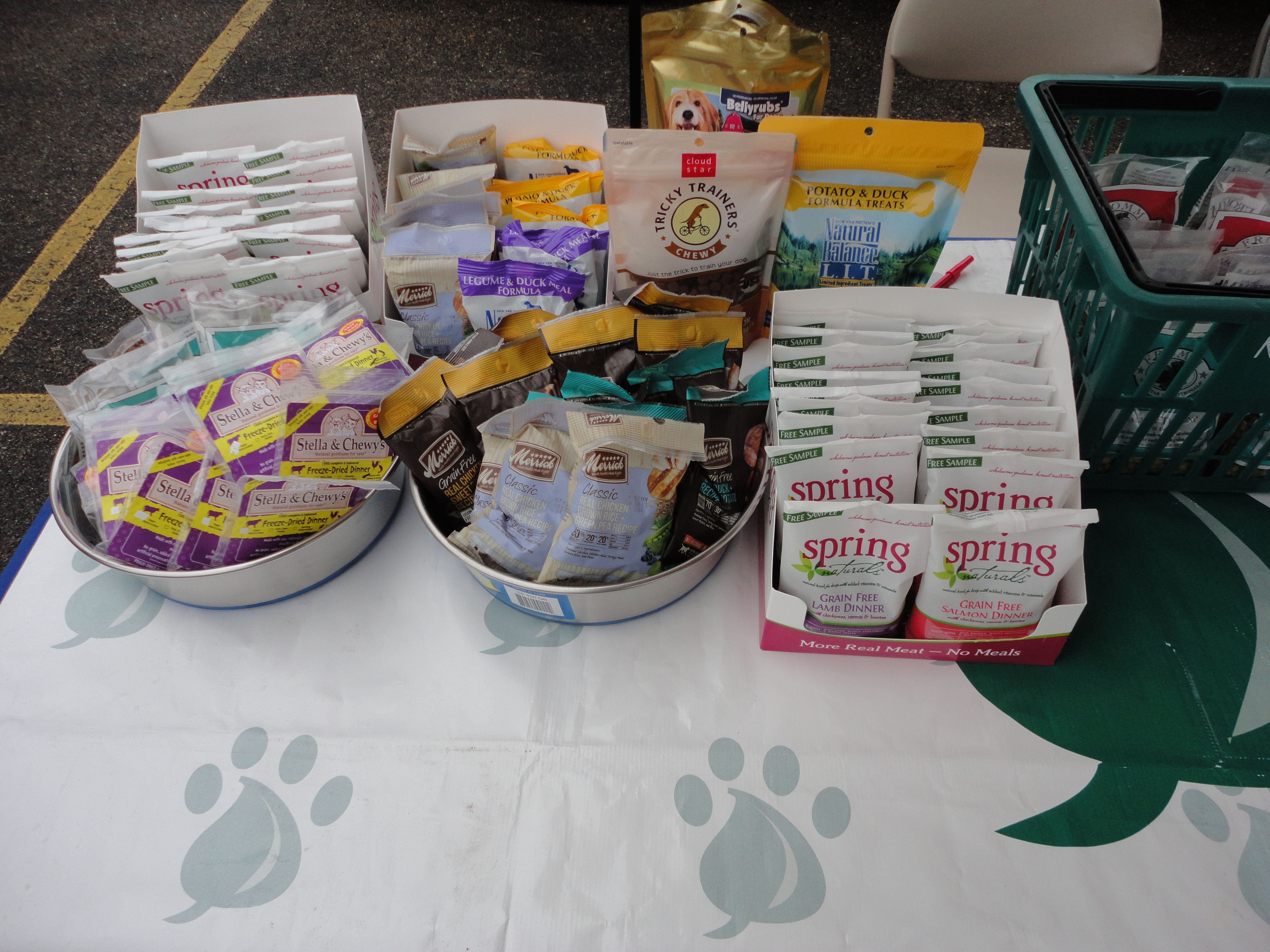 Free Goodies For Visitors At The Blessing Of The Animals Event At