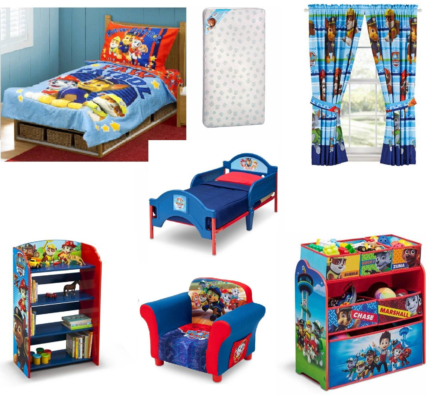 Toddler Character Bed Mattress And Complete Bedding Bedroom Bundle Set Toddler Bed Set Bedroom Furniture Sets Bedroom Bed