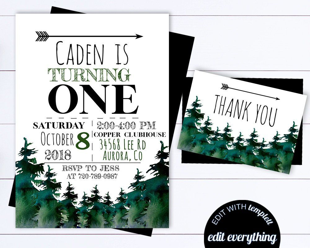 Adventure Birthday Invitation Template Adventure Birthday  Etsy