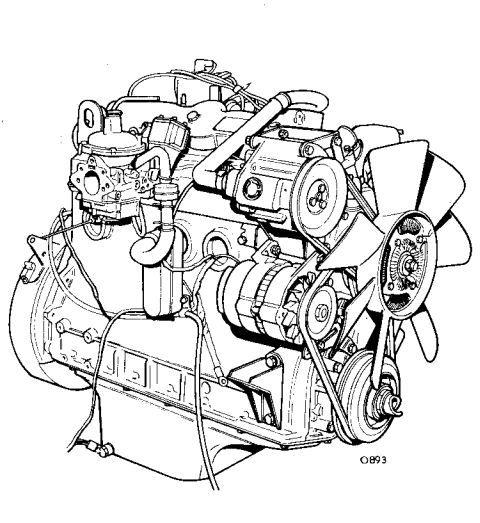 New post (Land Rover 2.6 Litre 6 Cylinder Petrol Engine