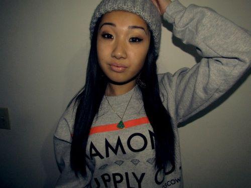 Grey diamond sweater shirt