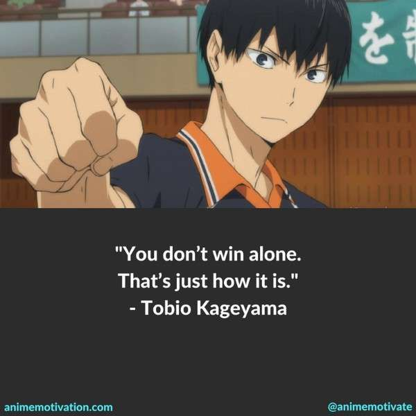 51+ Haikyuu Quotes About Teamwork & Self Improvement