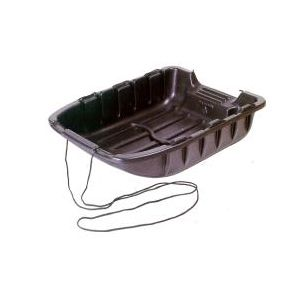 """with Rope 39/"""" x 28/"""" Heavy Duty Utility Snow Sled"""