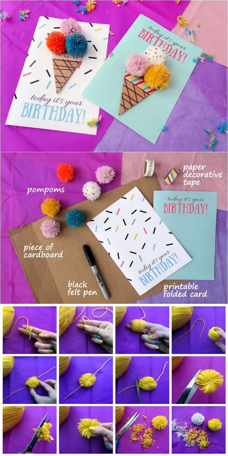 17 fun and thoughtful birthday cards to diy birthday