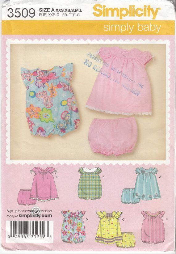 Newborn Baby Dress Pattern | Baby Sewing Pattern Infant Pattern ...