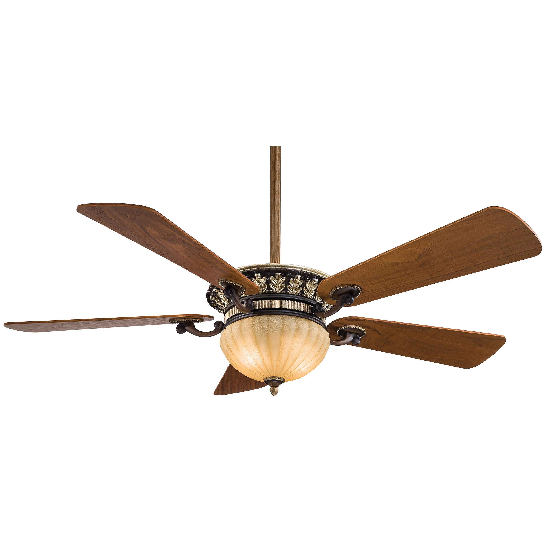 52 Volterra 5 Blade LED Ceiling Fan, Light Kit Included