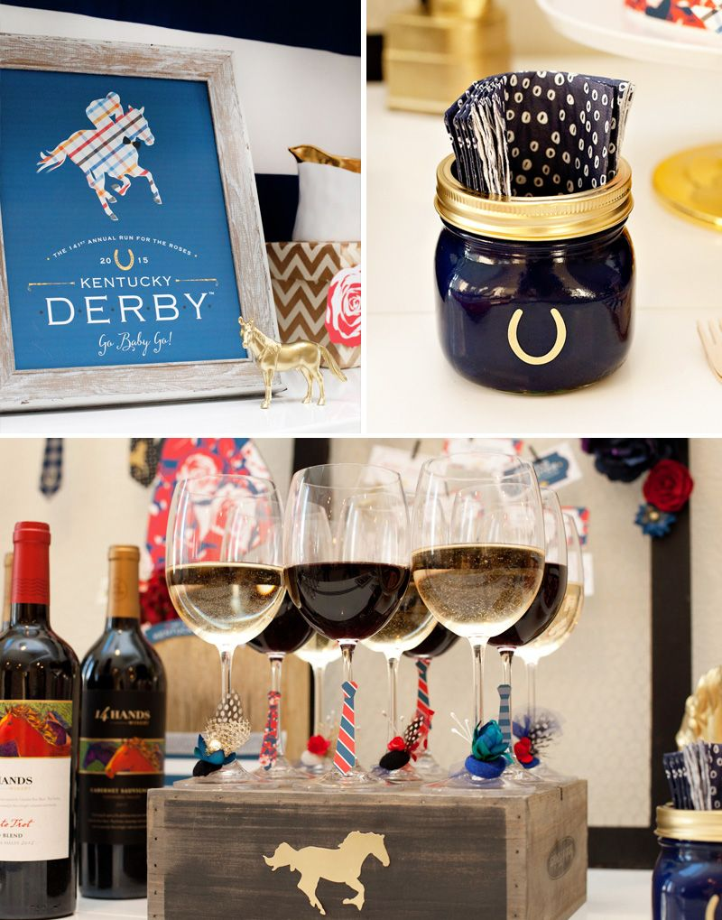 """""""Derby+Style""""+Inspired+Kentucky+Derby®+Party+Ideas"""