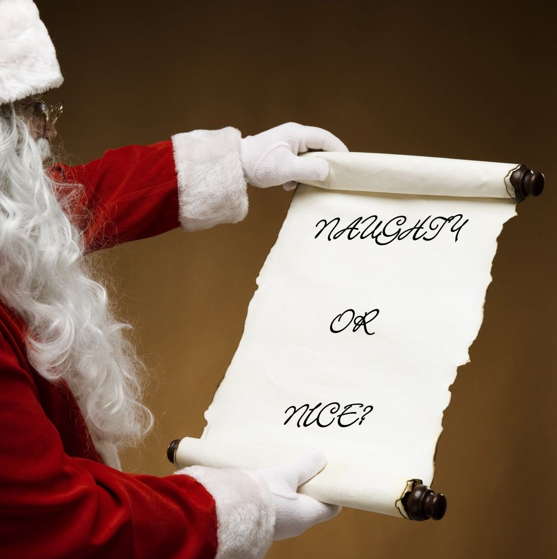 Today is National Santa\'s List Day! Have you been Naughty or Nice ...