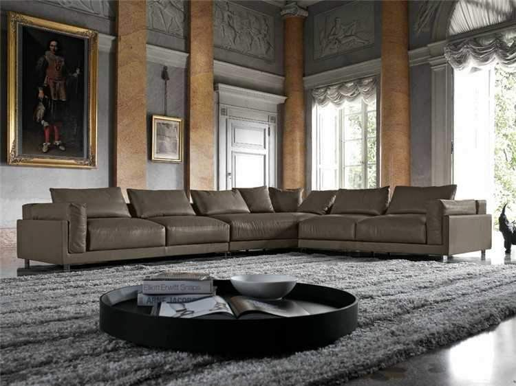 Leather Sectional By Holland Modern Leather Sectional