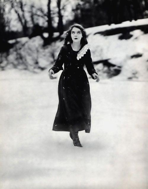 Lillian Gish, Way Down East, 1920.