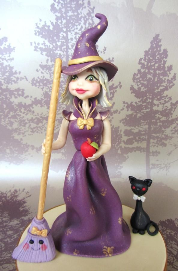 My little Glam Witch - Cake by Noreen@ Box Hill Bespoke Cakes