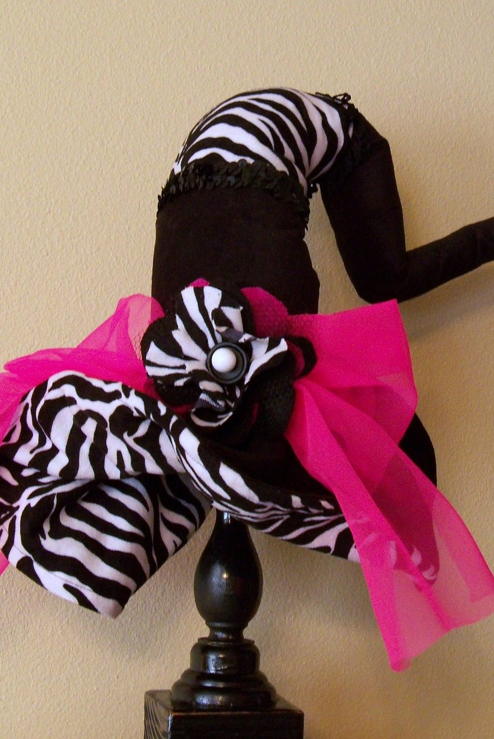 Witch Hat Diva Witch Hat Zebra and Pink is the by JojosBootique ...