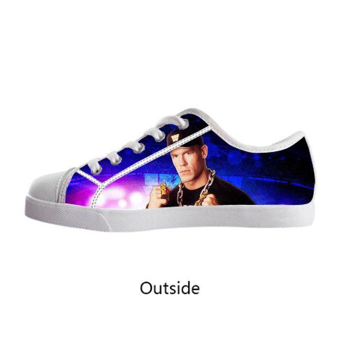 Custom John Cena Boy's Canvas Shoes US1 Fashion Shoes for Boy ...