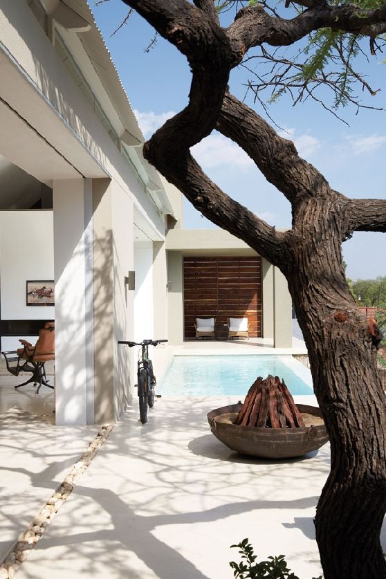 I Love The The Simplicity Of The Colour Palette And Materials Used To Creat  The Peaceful Haven That Is This Home In Windhoek, The Capital Of