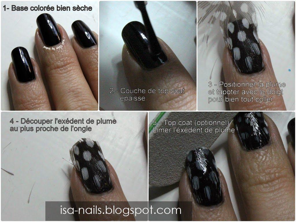 Manucure Plumes [TUTO inside] | Nail ISArt