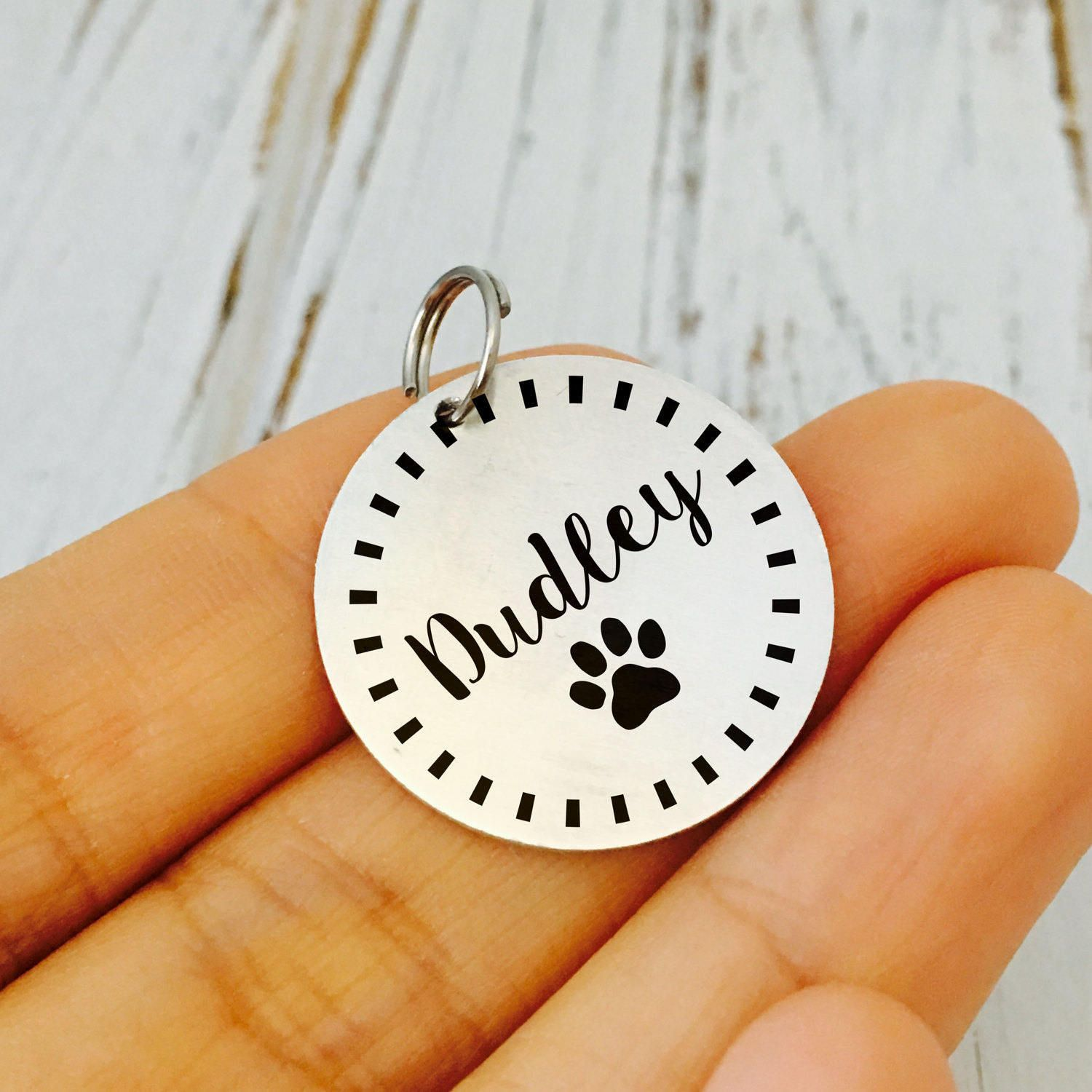 Puppy ID Tag / Dog ID Tag / Cat Tag / New Puppy Gift / New