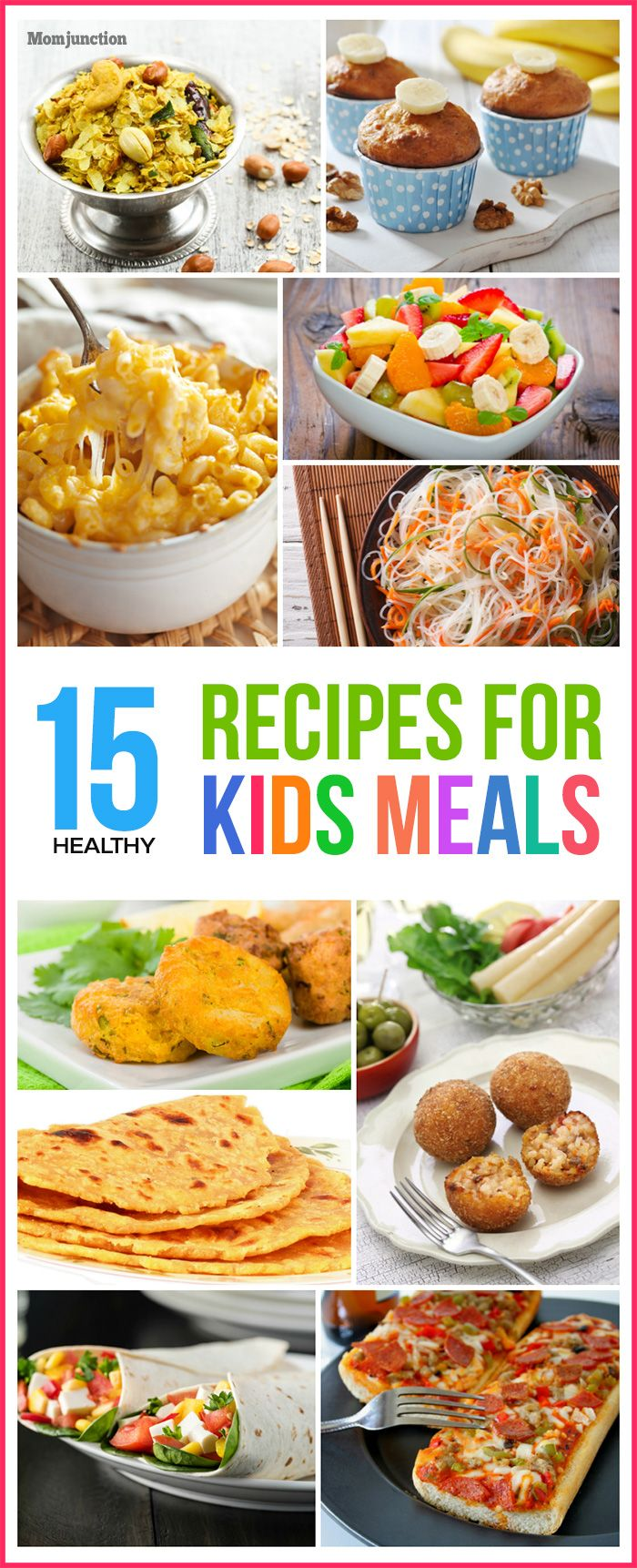 Top 15 healthy recipes for kids meals almuerzos para nio looking for healthy recipes for kids check out forumfinder