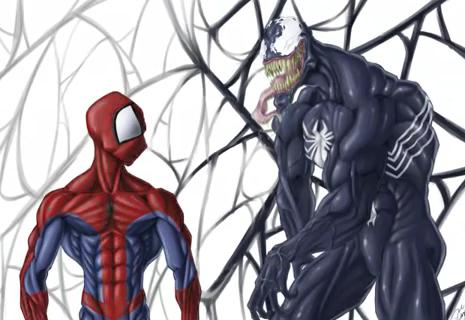 Spider Man _ Venom -Speed Painting_Jul 25, 2012 3.24.31 PM
