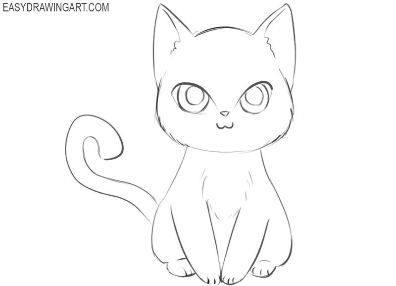 11++ How to draw anime animals ideas