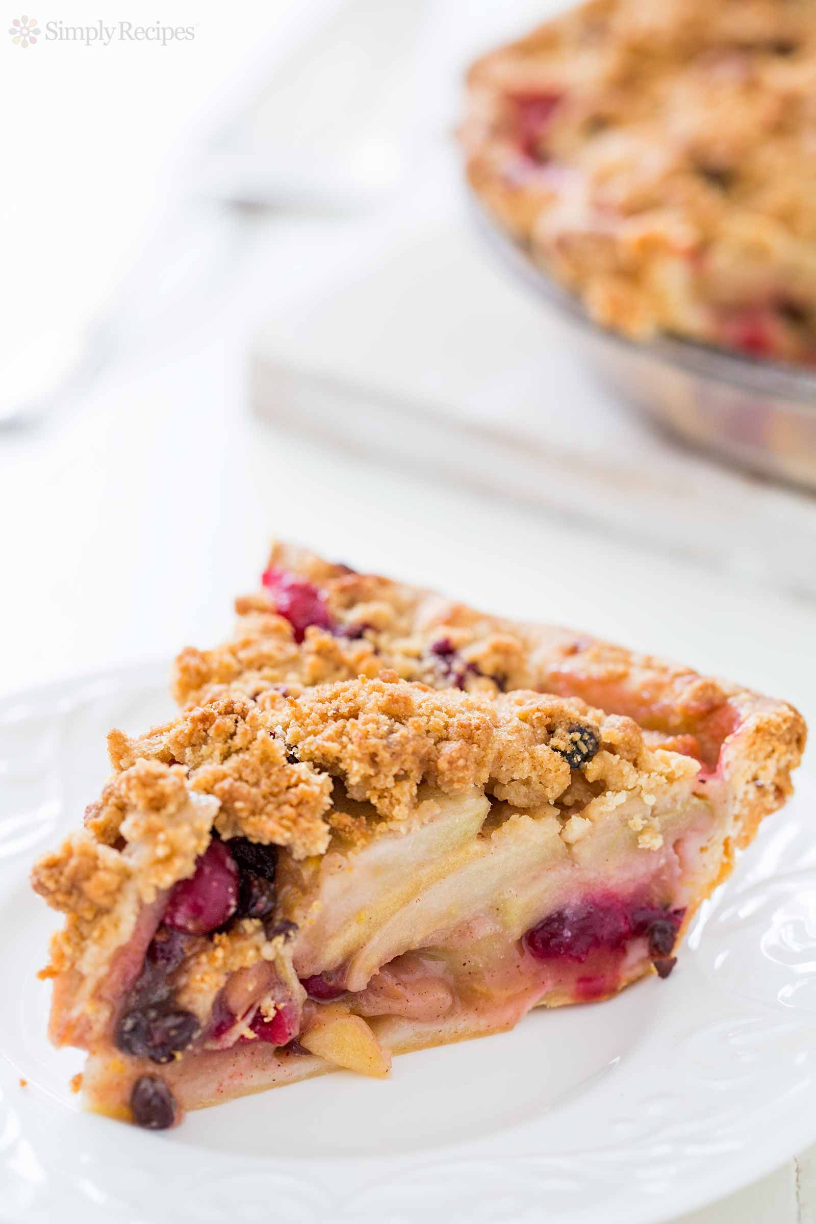 Apple and Dried Cranberry Pie forecasting