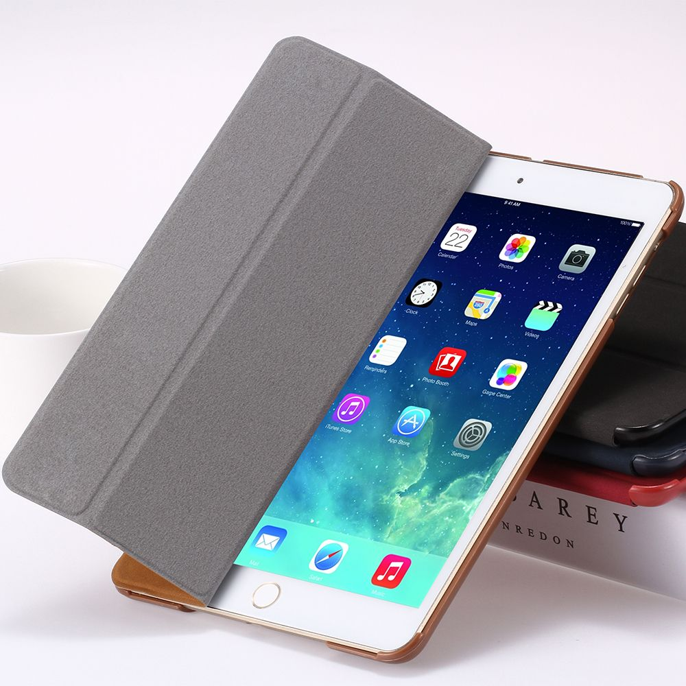 $14.53 (Buy here: http://appdeal.ru/8ka7 ) For iPad mini Luxury Fashion Leather Case for iPad mini 1 2 3 Retina Retro Flip Flexible Stand Slim Cover Deer Pattern YXF04510 for just $14.53