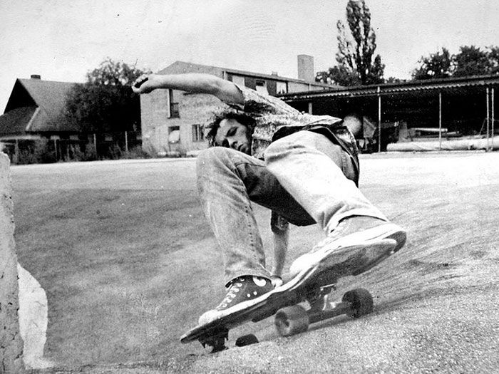 Levi's and the 501 have always been a part of the youth culture, here skating in the early 80's creative commons