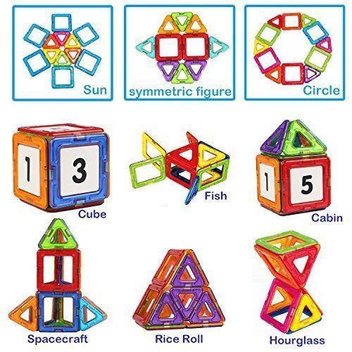 Magnetic Blocks for Kids Boys and Girls Preschool Toys 30 PCS Magnetic Toys