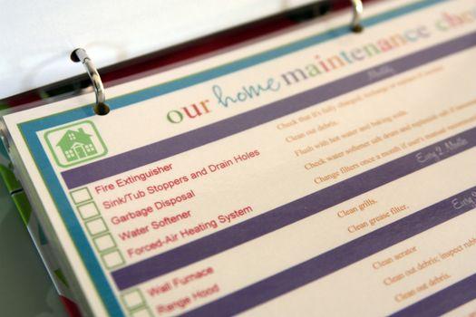 """Photo of Checkliste für die Hausinstandhaltung IHeart Organisation: März Challenge: Projekt """"Househ …"""