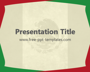 Mexico powerpoint template is a beige template with green and red mexico powerpoint template is a beige template with green and red details and mexican flag which toneelgroepblik Gallery