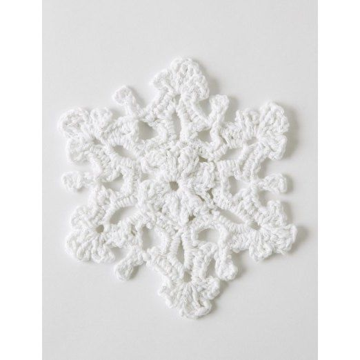 Twinkling Snowflakes in Bernat Handicrafter Holidays