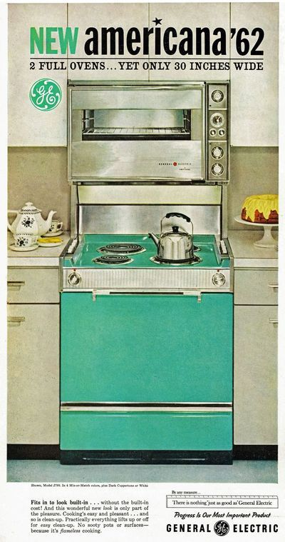Amazing Ge Double Oven From 1962 Vintage House Vintage