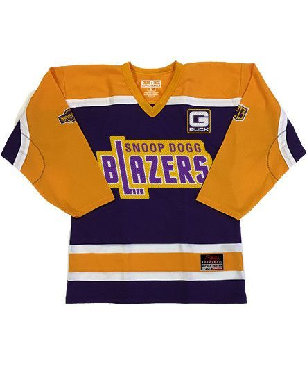 SNOOP DOGG  BLAZERS  HOCKEY JERSEY. Find this Pin and more on Products by PUCK  HCKY. 30ba557b7